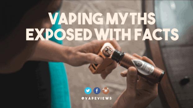 vaping myths debunked